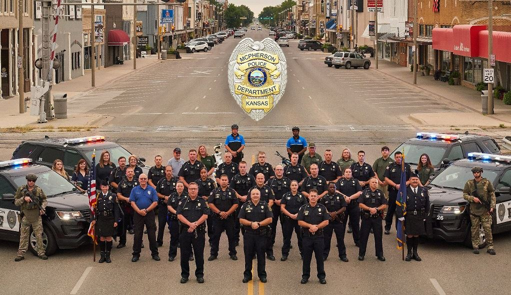 Group photo of 2019 Police Department